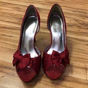 Michaelangelo red heels.
